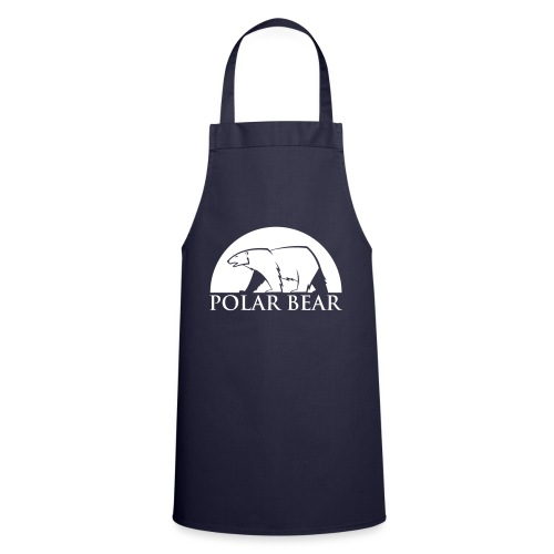 Polar Bear blanc - Tablier de cuisine