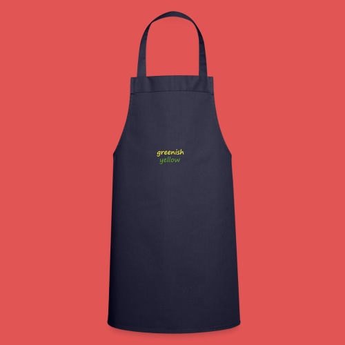 Green and Yellow - Delantal de cocina