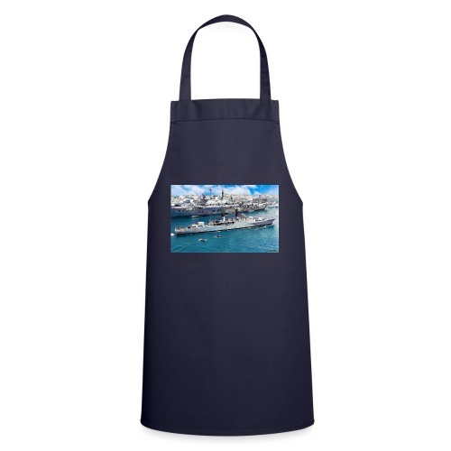 leopard and eagle oil1 - Cooking Apron