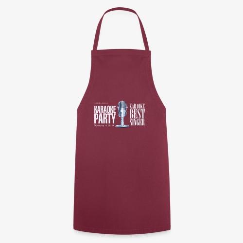 Karaoke party - Delantal de cocina