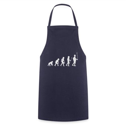 Evolution Stabführer weiß - Kochschürze
