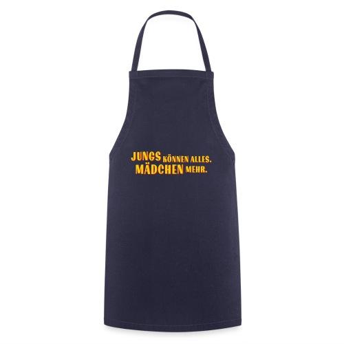 Jungs können alles - Kochschürze