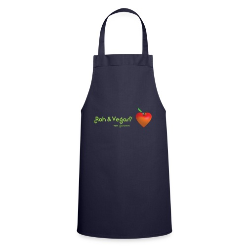 Roh & Vegan rotes Apfelherz (Rohkost) - Kochschürze