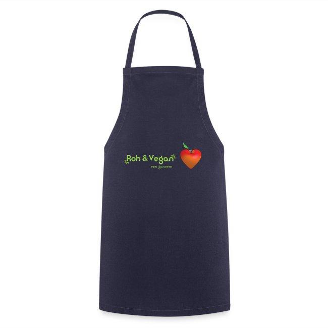 Roh & Vegan rotes Apfelherz (Rohkost)
