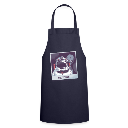 Aliens and astronaut - Cooking Apron