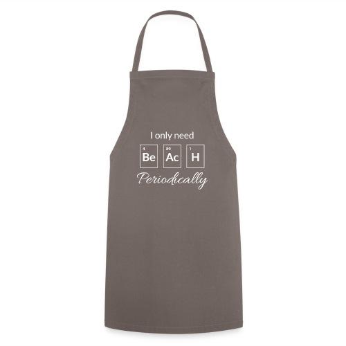 Periodensystem beach periodically - Kochschürze