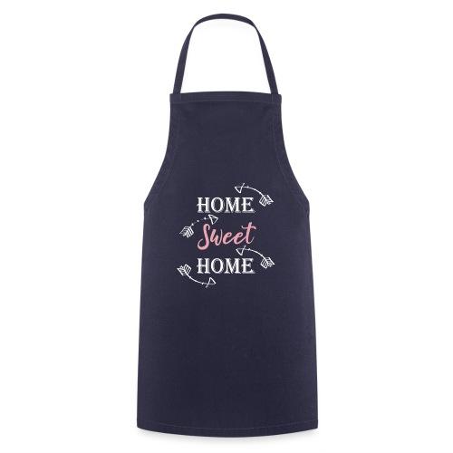 Hygge Hogar dulce hogar fondo oscuro - Delantal de cocina