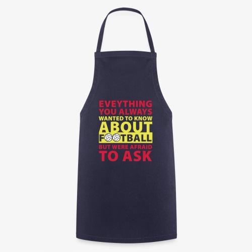 Todo lo que siempre quiso saber sobre el fútbol - Delantal de cocina