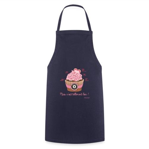 cupcake rose 2 - Tablier de cuisine