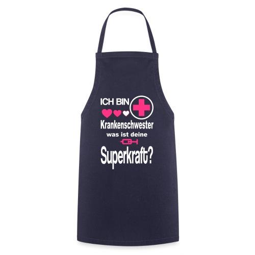 Krankenschwester Superkraft - Kochschürze