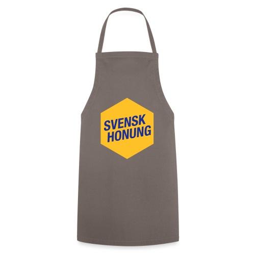 Svensk honung Hexagon Gul/Blå - Förkläde