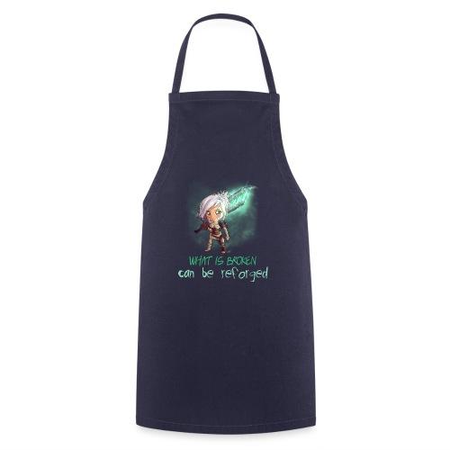 Chibi Riven con scritta - Grembiule da cucina