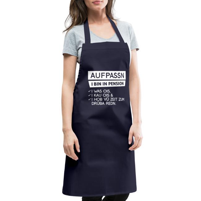 Vorschau: Aufpassn I bin in Pension - Kochschürze