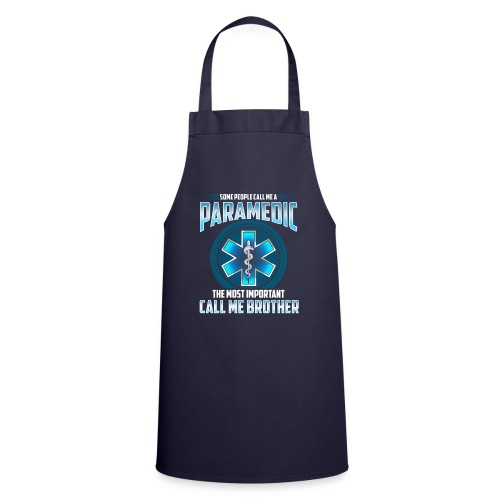 Paramedic Brother Shirt - Cooking Apron
