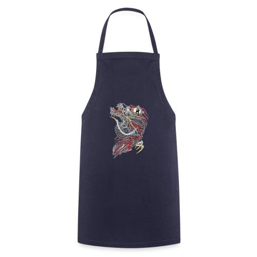Chinese Dragon Tattoo T-Shirt for Dragon Lover - Tablier de cuisine