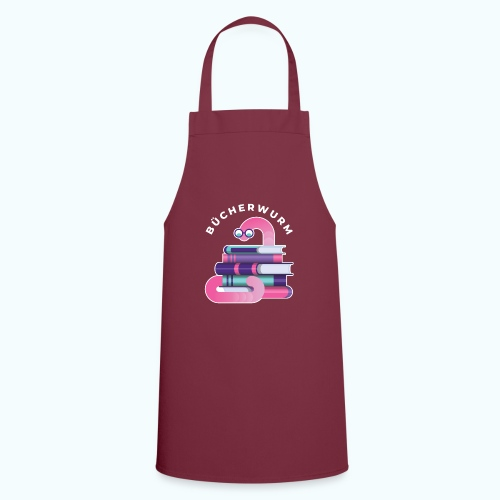 Bücherwurm - Cooking Apron