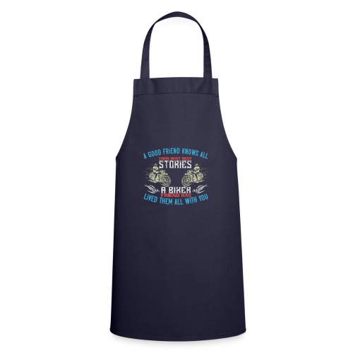 Biker stories. - Cooking Apron