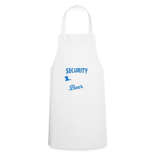 Cyber Security Expert will work for beer - Grembiule da cucina