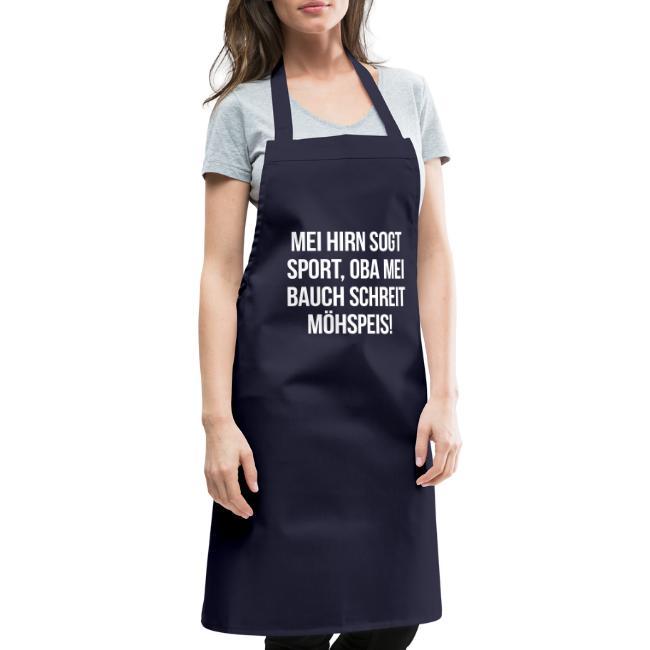 Vorschau: Mei Bauch schreit Möhspeis - Kochschürze