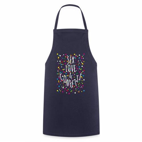 05 Sex Love Confetti - Kochschürze