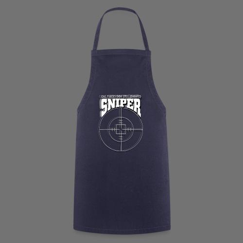 Sniper (white) - Kochschürze