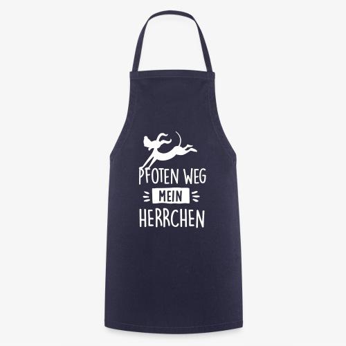 pfoten weg herrchen - Kochschürze