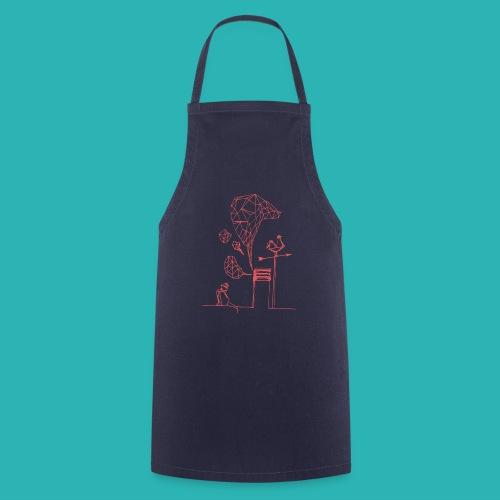 Carta_gatta_pink-png - Grembiule da cucina