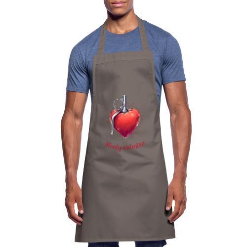 Bloody Valentine Design - Valentinstag Geschenk - Kochschürze