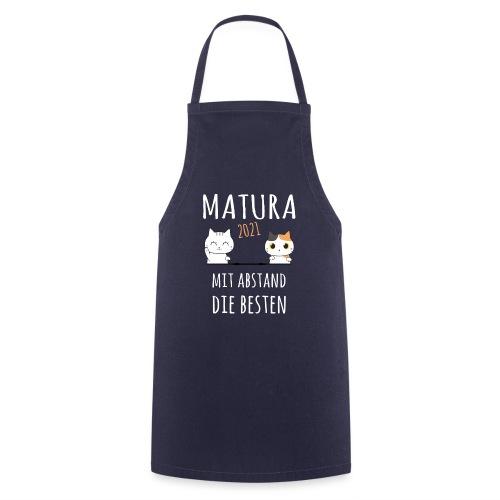 Matura 2021 Schule Corona Katze Shirt Geschenk - Kochschürze