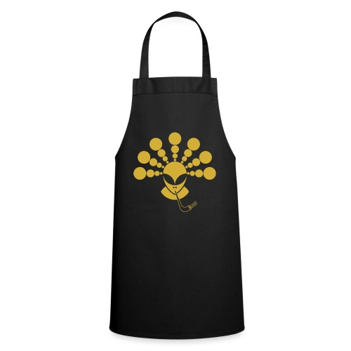 The Gold Smoking Alien - Cooking Apron