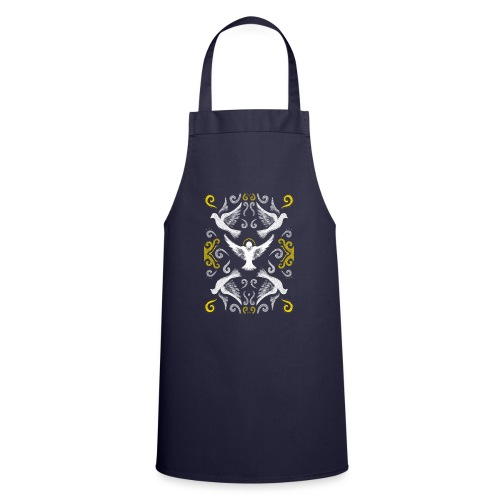 Doves Patterns - Cooking Apron