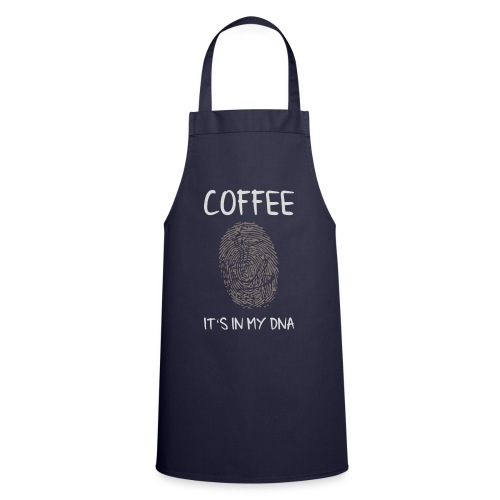 Coffee it's in my DNA - Kochschürze