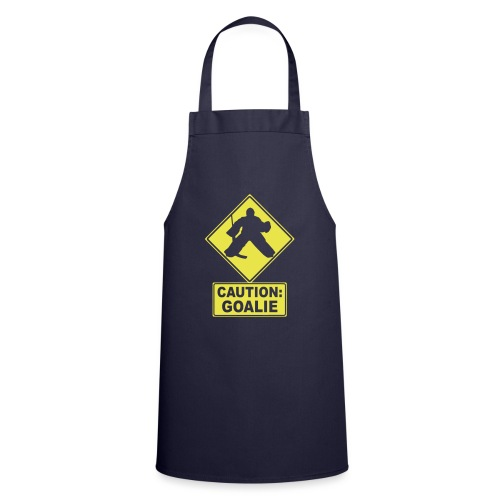Caution: Goalie (hockey) - Cooking Apron