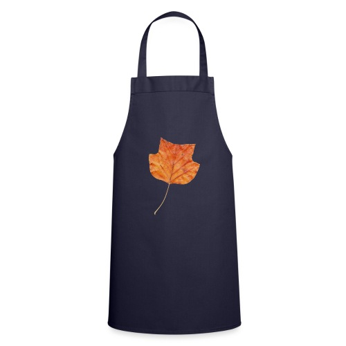 Herbst-Blatt - Kochschürze