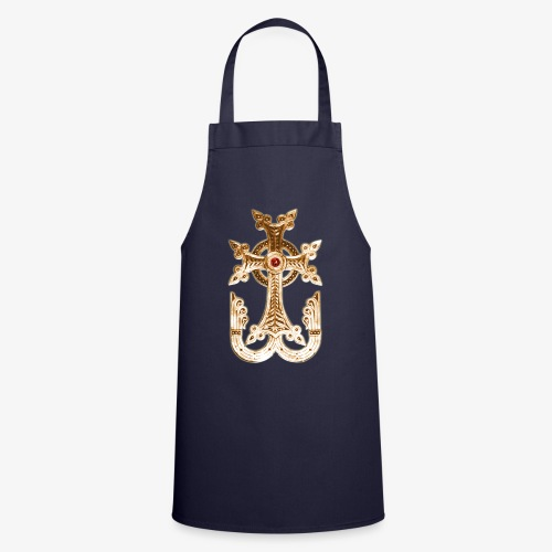 Armenisches Kreuz / Armenian Cross Gold Metallic - Kochschürze