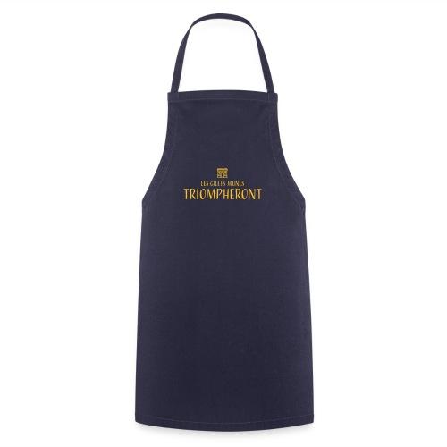 Les gilets jaunes triompheront, t-shirt manif - Tablier de cuisine