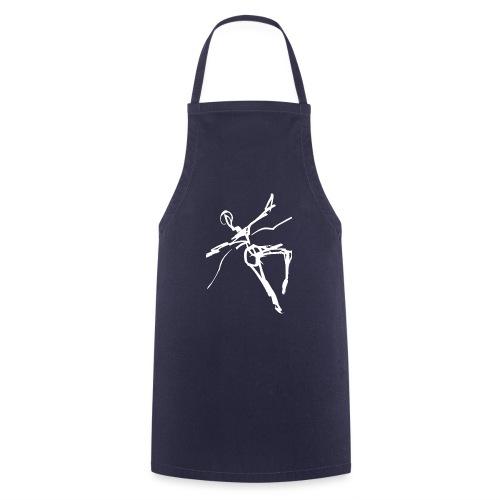 Ikarus 2 weiß - Kochschürze