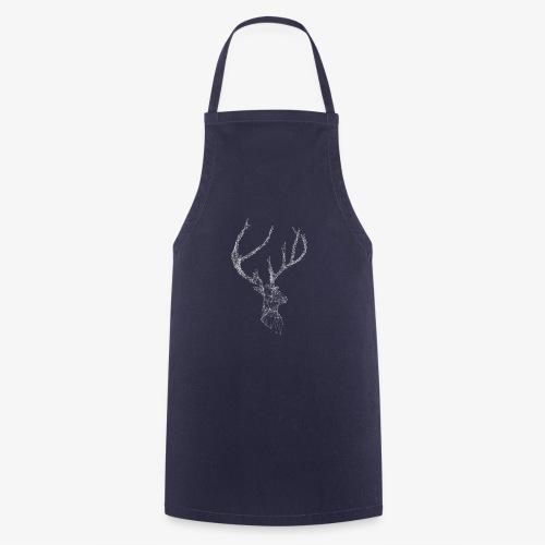 Deer head hertenkop gewei - Keukenschort