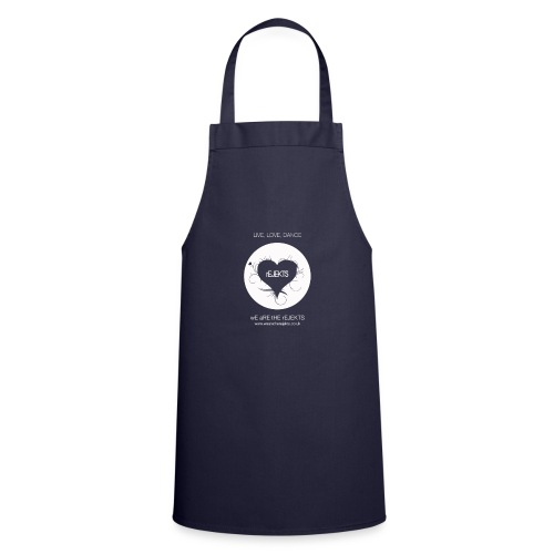 Live Love Dance White - Cooking Apron