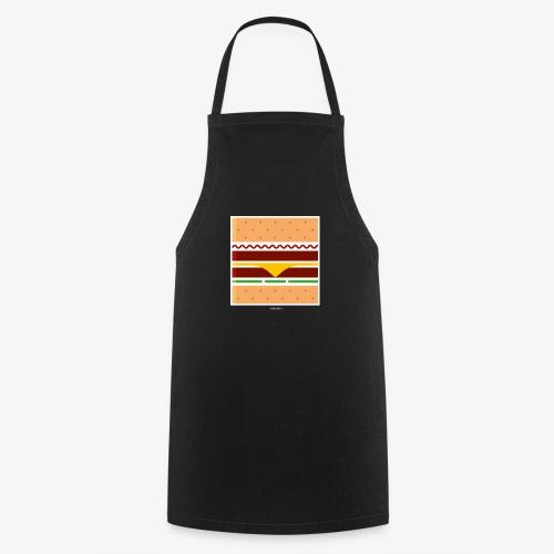 Square Burger - Grembiule da cucina