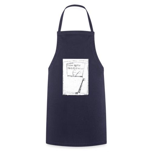 unbequem fernsehen - Cooking Apron