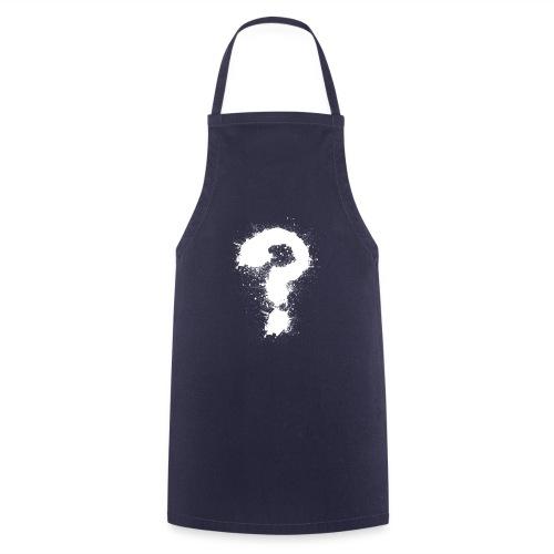 Fragezeichen - Kochschürze