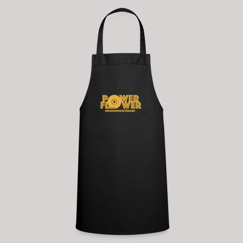 logo def PF 1colore giallo - Grembiule da cucina