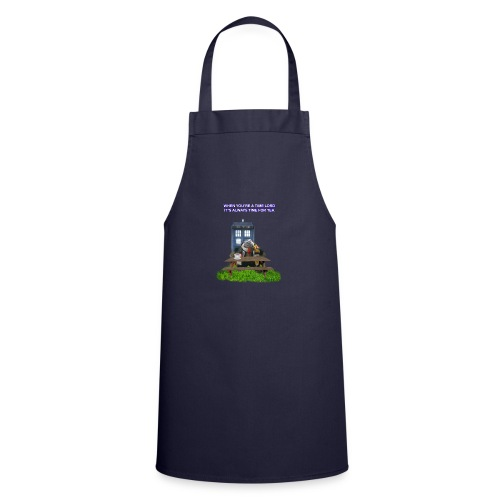 TIME AND SPACE AND TEA - Cooking Apron