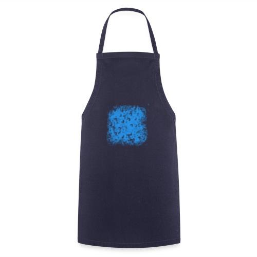 blaue Wolke - Kochschürze