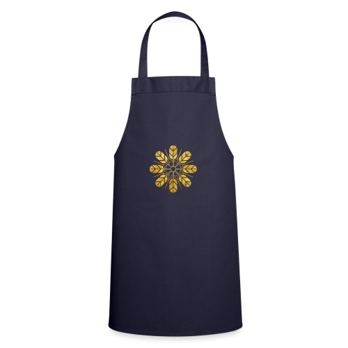 Inoue clan kamon in gold - Cooking Apron