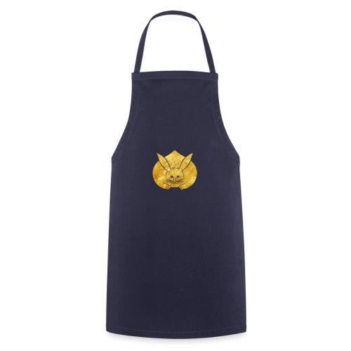Usagi kamon japanese rabbit gold - Cooking Apron