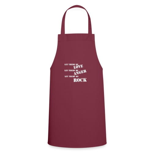 Love Anger Rock - Cooking Apron