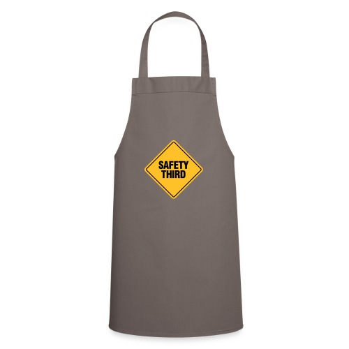 SAFETY THIRD - Cooking Apron