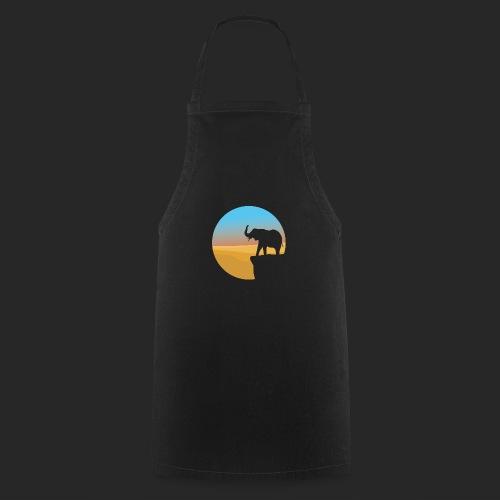Sunset Elephant - Cooking Apron